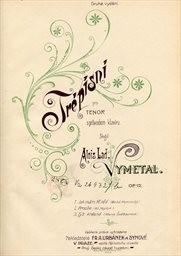 Tré písní, op. 12