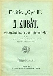 Missa Jubilaei solemnis in F-dur op.12
