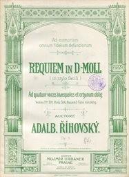 Requiem in d moll, op.5