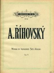 Missa in honorem Sancti Aloisii, op.11