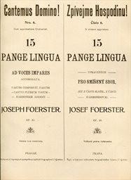 15 Pange lingua