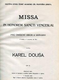 Missa in honorem Sancti Venceslai