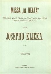 """Missa """"de Beata"""""""