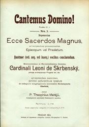 Cantemus Domino!