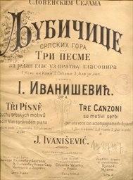 3 písně v duchu srbských motivů