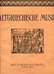 Altgriechische Musik