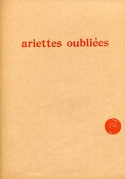 Ariettes oubliées