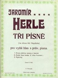 Tři písně pro vyšší hlas s průvodem piana