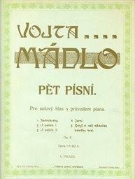 5 písní, op. 6 s průvodem piana