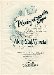 Písně v národním slohu, op. 8