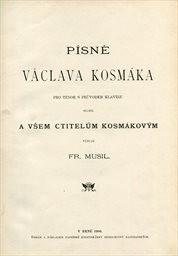 Písně Václava Kosmáka