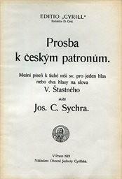 Prosba k českým patronům