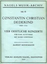 4 geistliche Konzerte