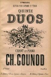 15 duos pour soprano et tenor & piano