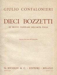 Dieci bozzeti su motivi popolari dell'alta Italia