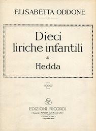 Dieci liriche infantili di Hedda