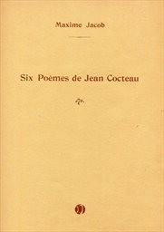 6 poémes de Jean Cocteau