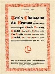 Trois chansons de France