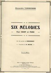 6 mélodies