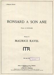 Ronsard a son ame