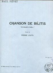 Chanson de Bilitis
