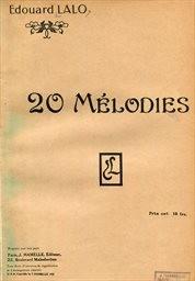 Mélodies pour chant et piano