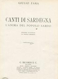 Canti di Sardegna