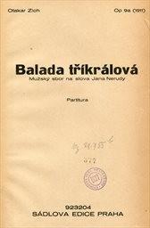 Balada tříkrálová