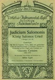 Judicium Salomonis