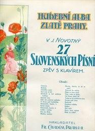 27 slovenských písní