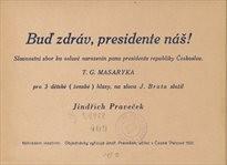 Buď zdráv, presidente náš!