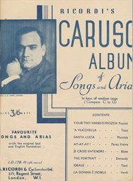 Caruso-Album of Songs and Arias