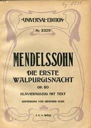 Die erste Walpurgisnacht