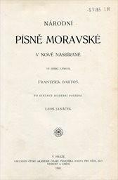 Národní písně moravské v nově nasbírané