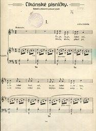 Cikánské písničky