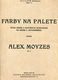Farby na palete. Op. 5