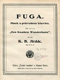 Fuga, op.13, 4, 5
