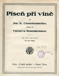 Píseň při víně