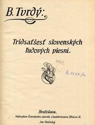 36 slovenských ľudových piesní