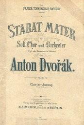Stabat Mater, op. 58, B. 71