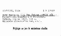 Nový Mercadet čili Pan Fahoun střílí gol...