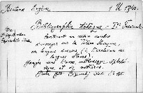 Bibliographie Tcheque                         (Fasc. 1)