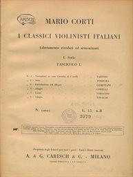 I classici violinisti italiani                         (I. serie)