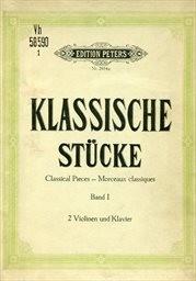 Sammlung klassischer Stücke aus Werken berühmter Meister