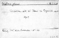 Variationen über ein Thema von Paganini