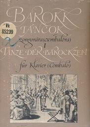 Barokk táncok                         (I.)