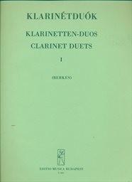 Klarinétduók                         (I)