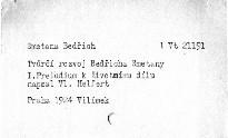 Tvůrčí rozvoj Bedřicha Smetany                         (1)