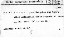 Beiträge zur Geschichte der bayerischen Hofkapelle unter Orlando di Lasso                         (1. Buch)