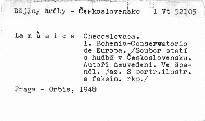 La música Checoslovaca
